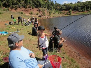 In 2014, 3,720 anglers caught 28,374 trout in Koke'e.