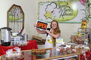Marie Cassel is seen here at Sweet Marie's Hawai'i.