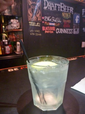 As part of our gin tour, here is a simple Tom Collins. Nothing fancy or disrespectful, it gives you the full flavor of the gin with complementing citrus and a taste of tradition.
