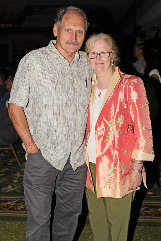 KIUC Board Chairman Jan TenBruggencate and wife Carolyn Larson