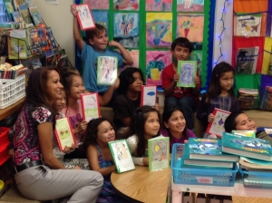 Michelle Gibson's book-publishing club.