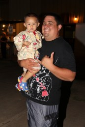 Taylor Sakimae and his son, Kron Sakimae