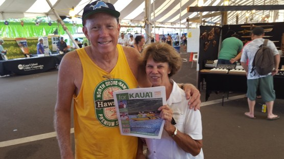 Andy and Nancy Bushnell, of Wailua.