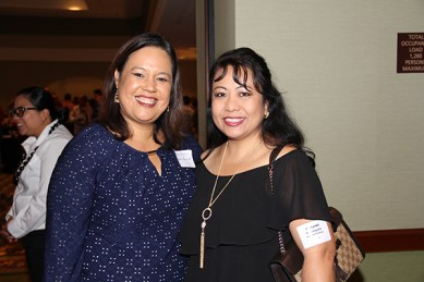 Nicole Pezario, left, and Marynel Valenzuela