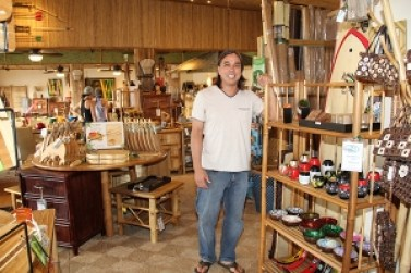 Bamboo Works owner Julian Ruppert