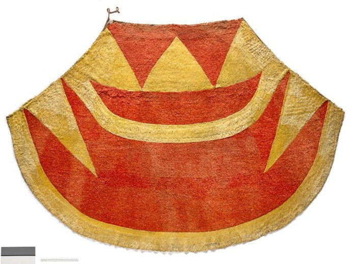 'Ahu 'Ula (feathered cloak) of Kalani'ōpu'u