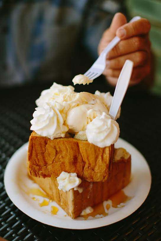 The favorite dish right now…Honey Toast.