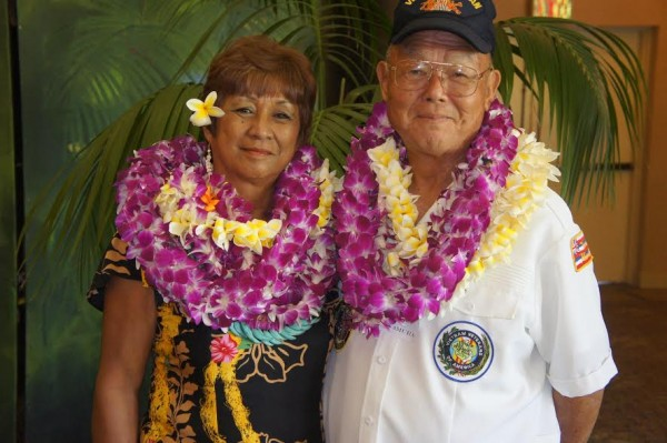 Shirley Simbre-Medeiros and Edward Kawamura were recently named Kaua'i's 2016 Outstanding Female and Male Older American.