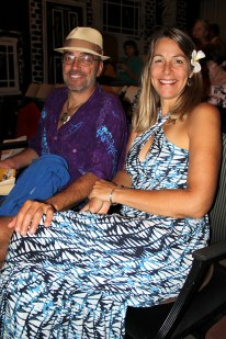 Paul Sterling and Nathalie Kelly