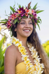 Mi Nei Martins at the Kauai Tahiti Fete. Photo courtesy of Roxanne McCann
