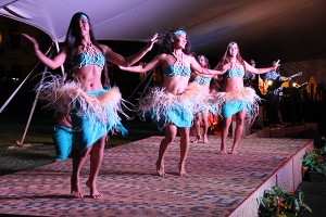 Lu'au Makaiwa at the Courtyard Marriott at Coconut Beach