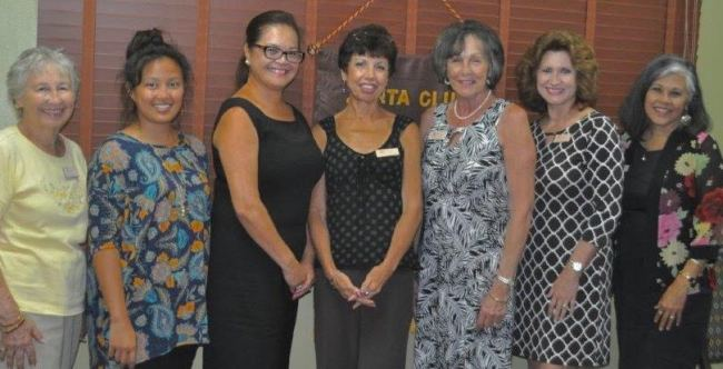 Current Zonta Club of Kauai Officers 2016-2017