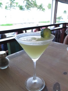 The Cucumber Lime Martini