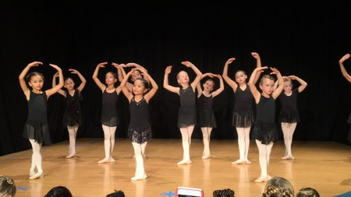 Ballet 2 and 3 Class demonstration. Contributed photo