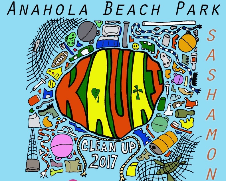 Anahola Beach Park Cleanup Saturday