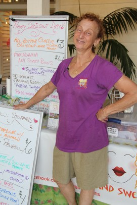 Judy Capertina, of Haole Girl Island Sweets