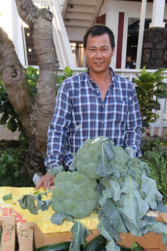 Tiansheng Lin, of Lin's Farms
