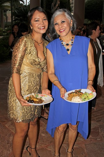 Jamie Bucao, left, and Edie Ignacio