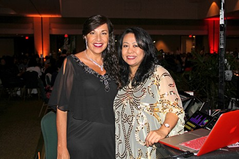 Dolly Kanekuni, left, and Marynel Valenzuela
