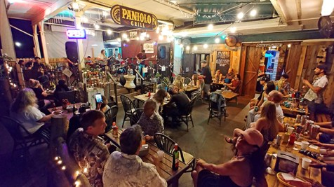 On Open Mic Night, Paniolo is a festive full house with an impressive set of community-charged music.