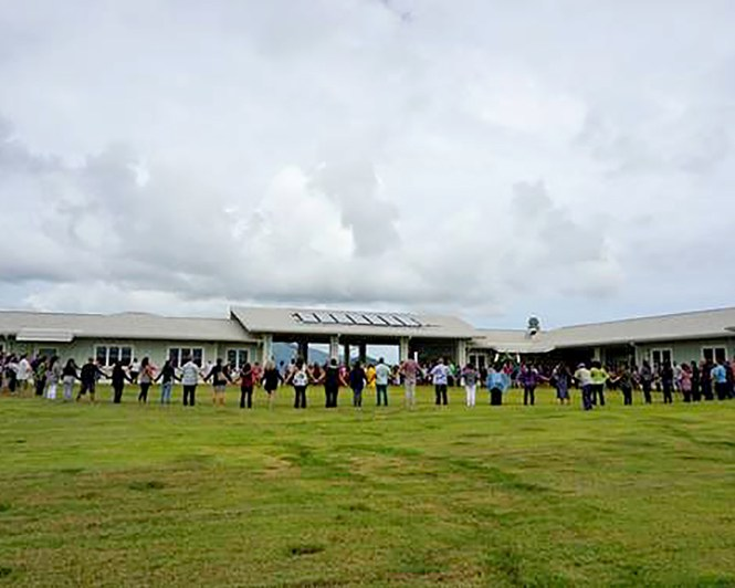 The center includes space for both inpatient and outpatient treatment services, a certified kitchen to prepare meals and value-added agricultural products, along with a dining room, classroom spaces, and a laundry facility. Photo courtesy of County of Kaua'i