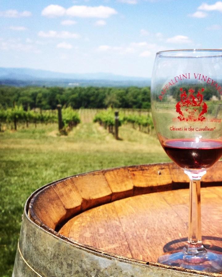 raffaldini vineyard wine glass