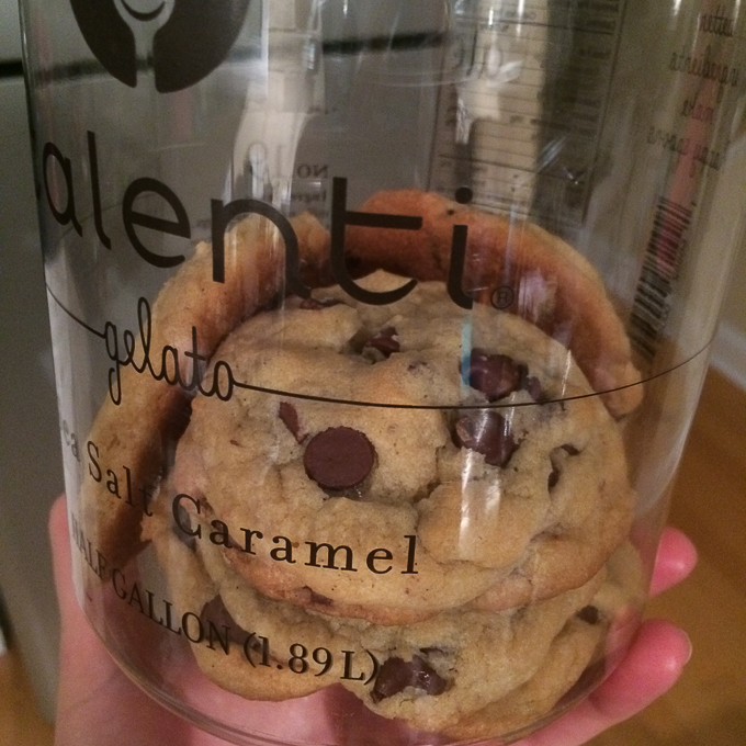 cookies and talenti
