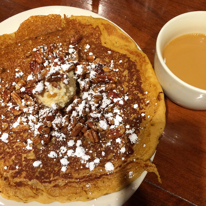 Tupelo Honey Sweet Potato Pancake - Asheville Travel