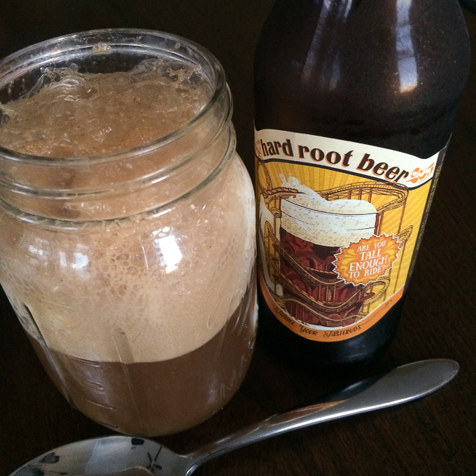 Hard Root Beer Float