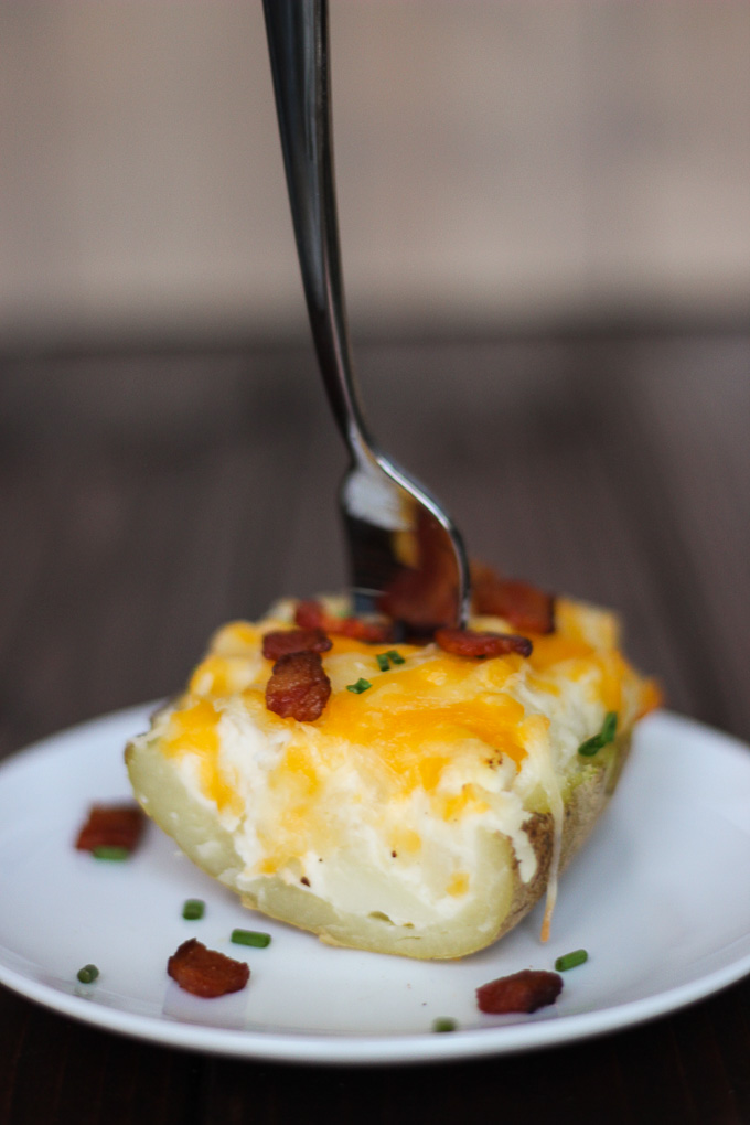 Twice Baked Potatoes - in just over 30 minutes your perfect side is served!