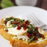 Poached Egg and Basil Toast // Fork in the Kitchen