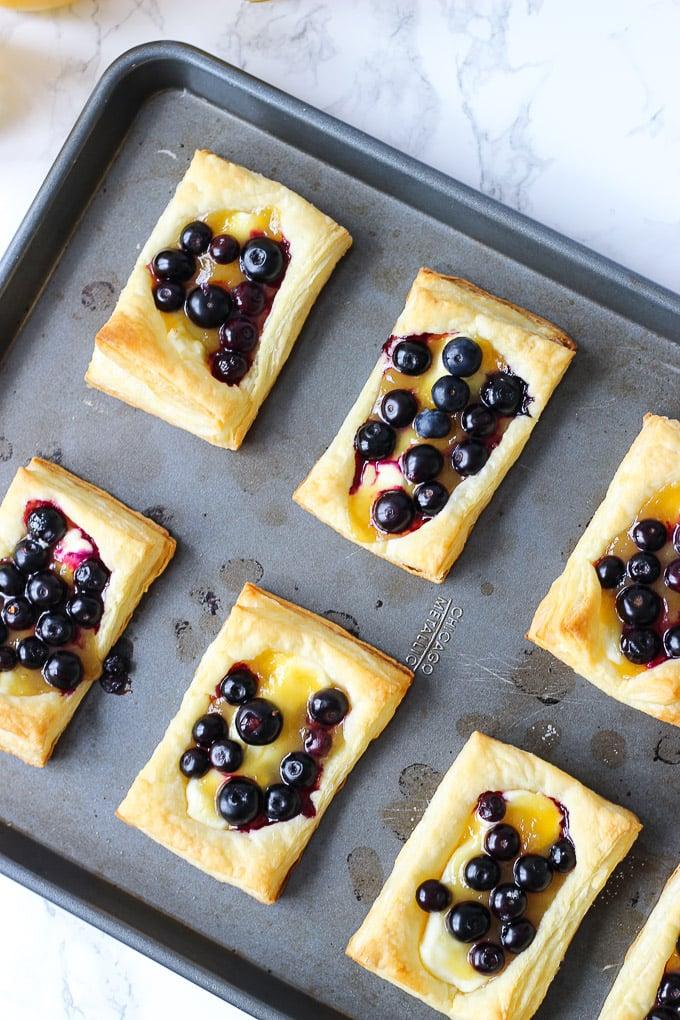 Blueberry Lemon Pastry
