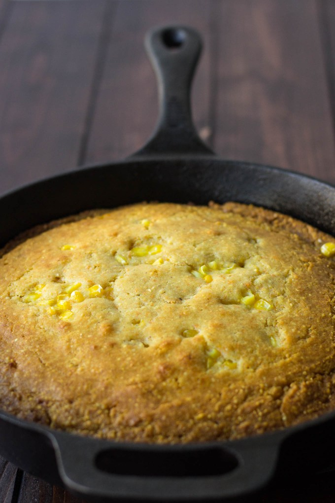 Honey Skillet Cornbread // Fork in the Kitchen