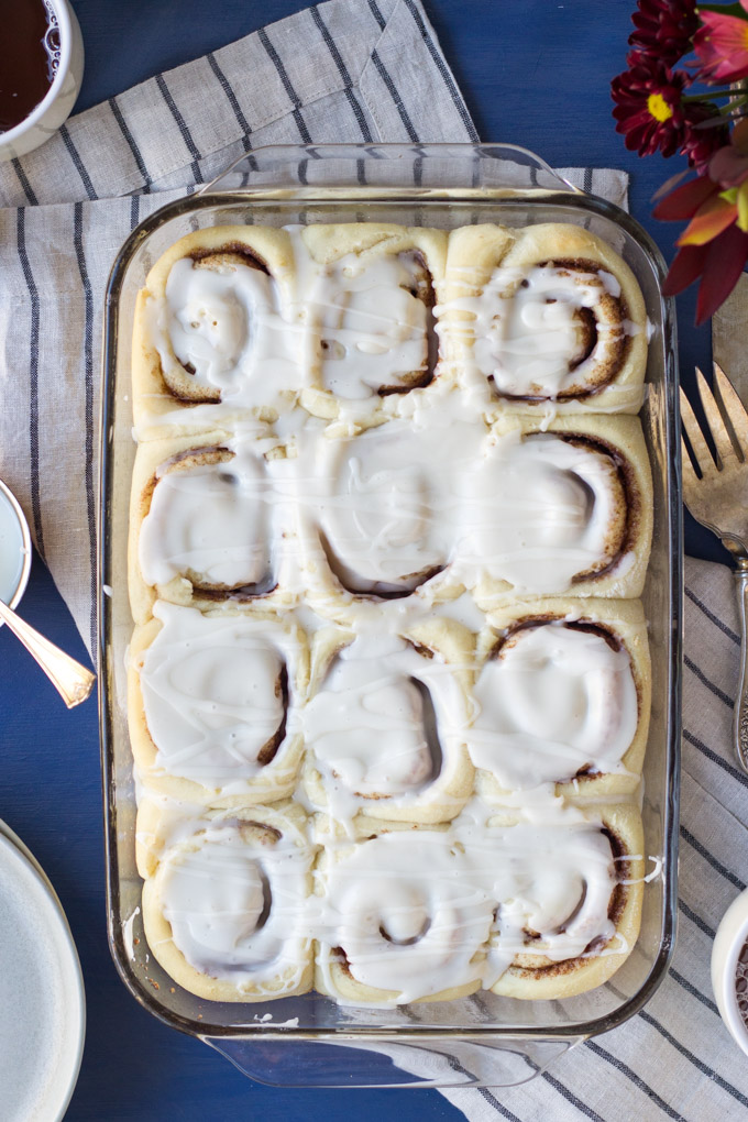 Homemade Buttermilk Cinnamon Rolls | Fork in the Kitchen