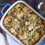 Traditional Vegetarian Thanksgiving Stuffing/Dressing