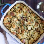 Traditional Vegetarian Thanksgiving Stuffing/Dressing