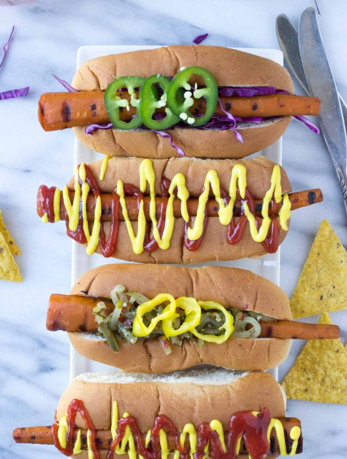 Vegan Carrot Dogs | Fork in the Kitchen