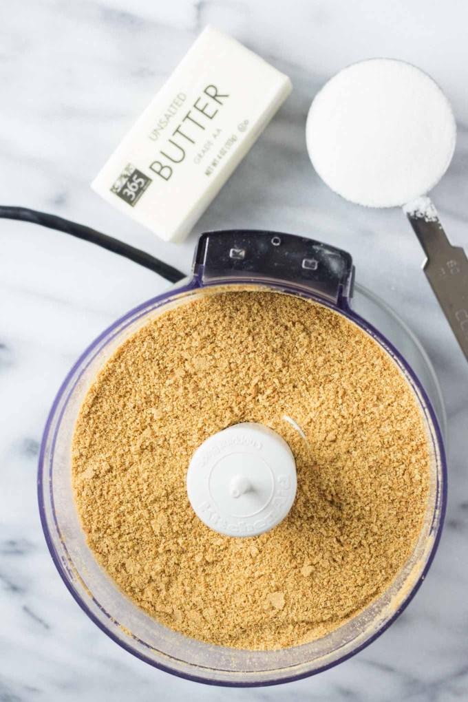 Graham Cracker Crust | Fork in the Kitchen