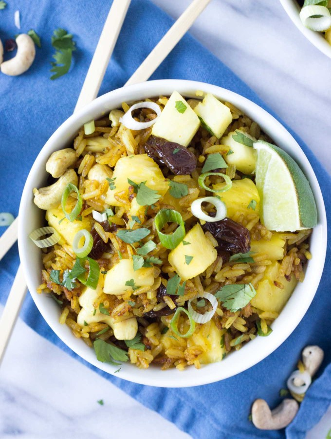 Pineapple Fried Rice | Fork in the Kitchen