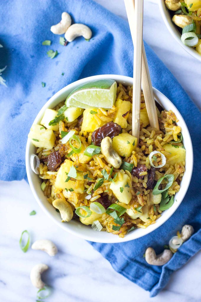 Pineapple Fried Rice   Fork in the Kitchen