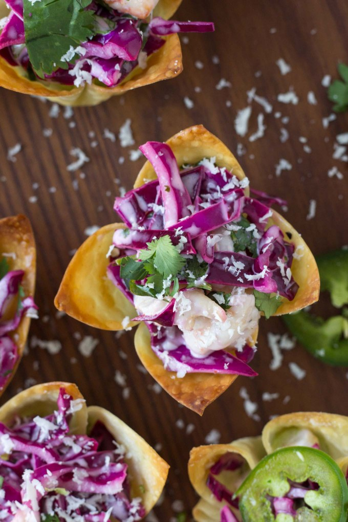 Shrimp Taco Bites | Fork in the Kitchen