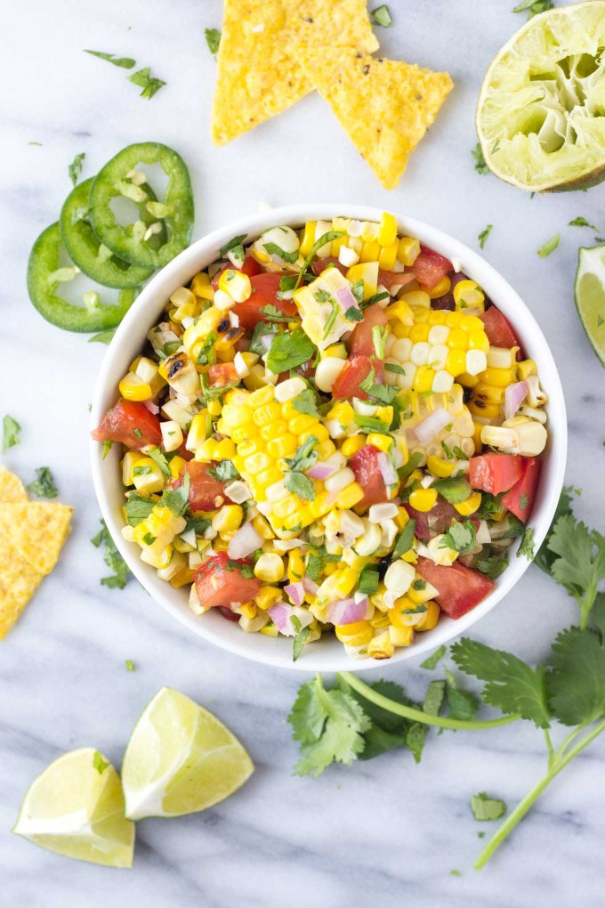Fresh Sweet Corn Salsa | Fork in the Kitchen