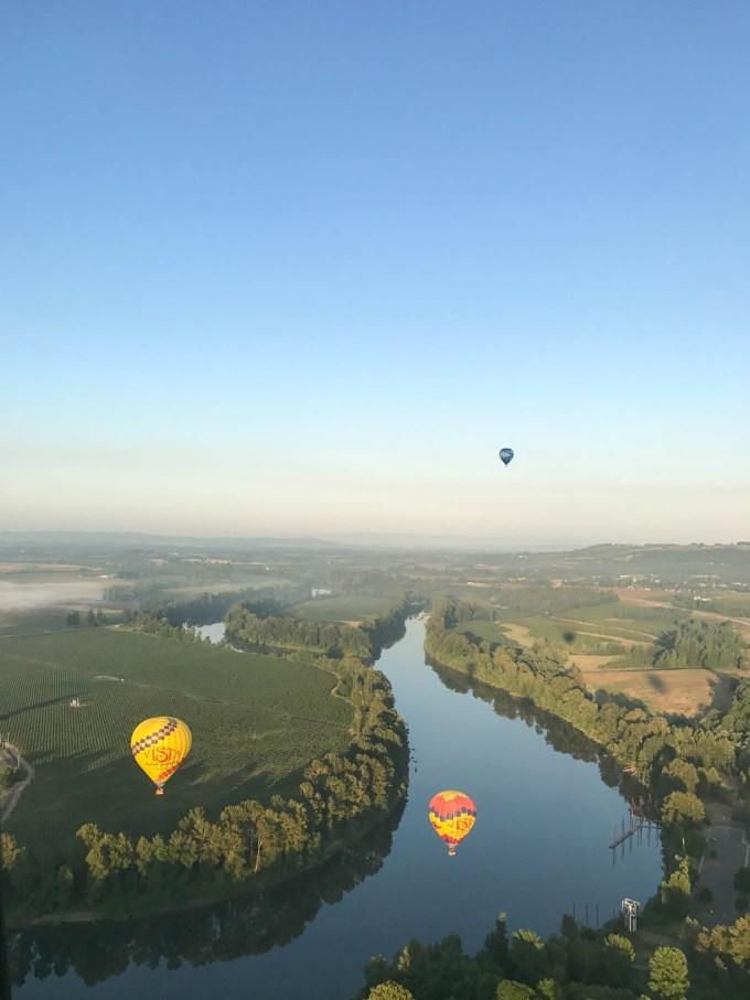 Hot Air Balloon Ride   Willamette Valley   Fork in the Kitchen