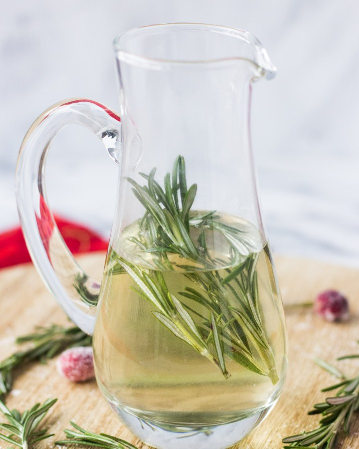 Rosemary Simple Syrup | Fork in the Kitchen