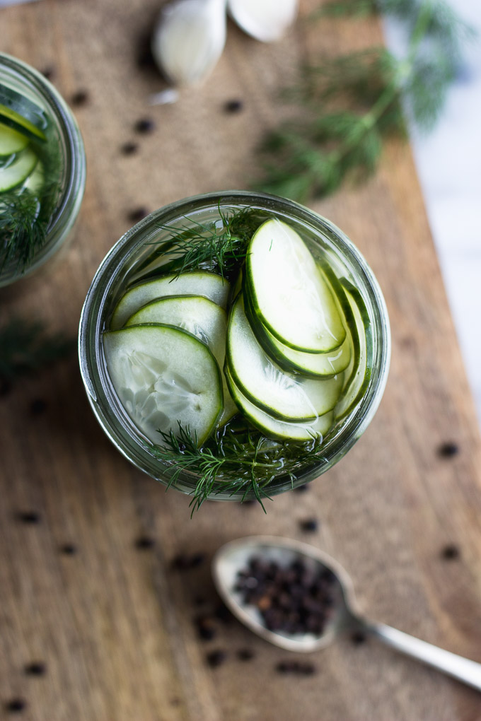 Quick Homemade Pickles | Fork in the Kitchen