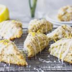 Lemon Lavender Scones - light, elegant scones perfect for spring or summer brunch!   Fork in the Kitchen