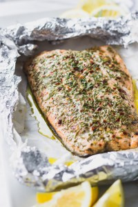 The most tender, flaky, luxurious salmon you'll ever have - the ultimate summer recipe that's incredibly easy!