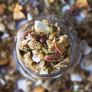 Easy Autumn Spice Granola