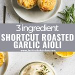 garlic aioli pinterest image