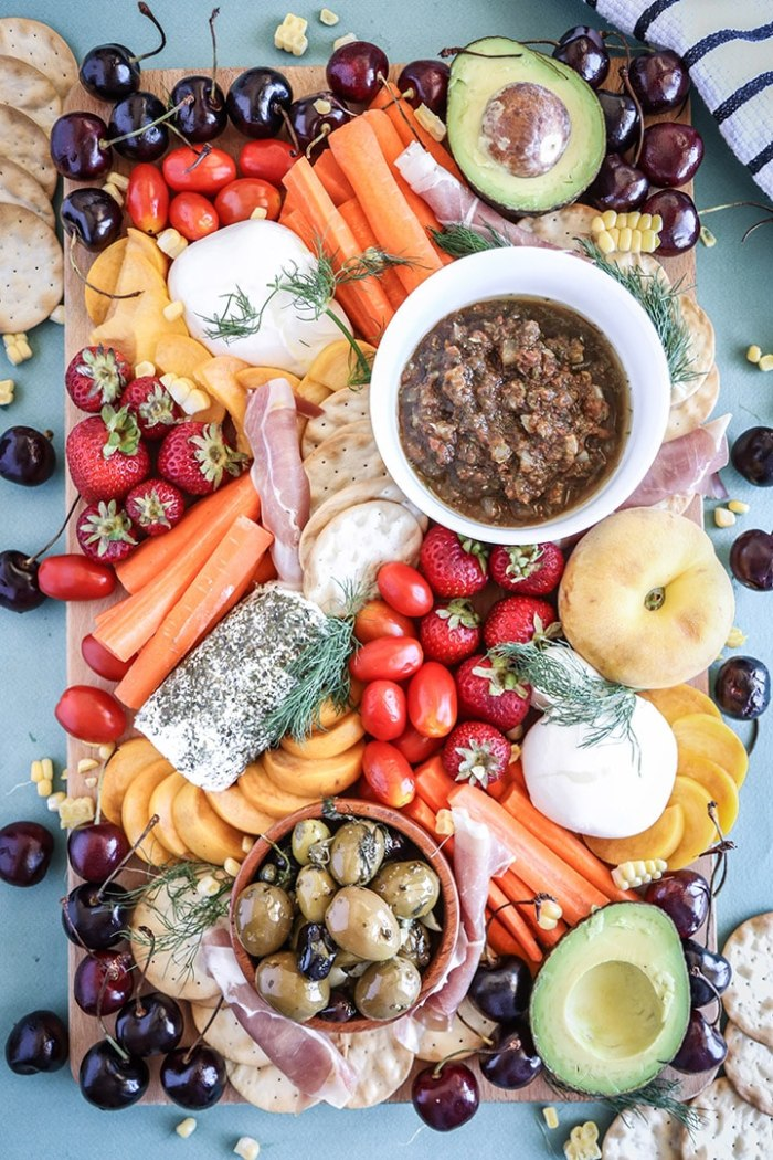Summer Crudite Platter